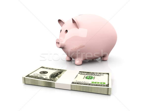 Piggy bank saving		 Stock photo © Spectral