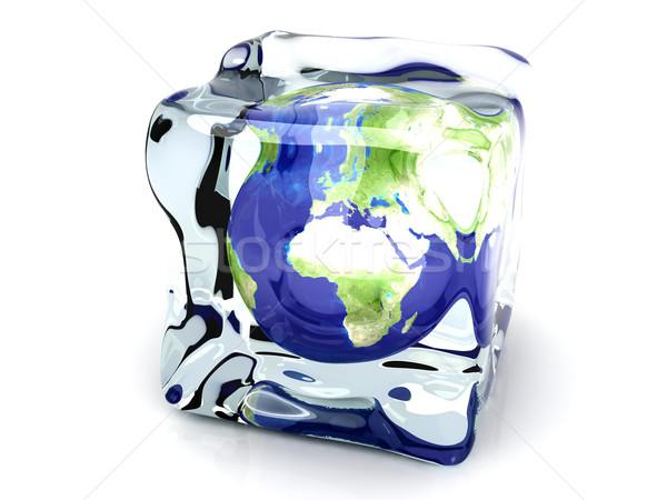 Frozen World Stock photo © Spectral