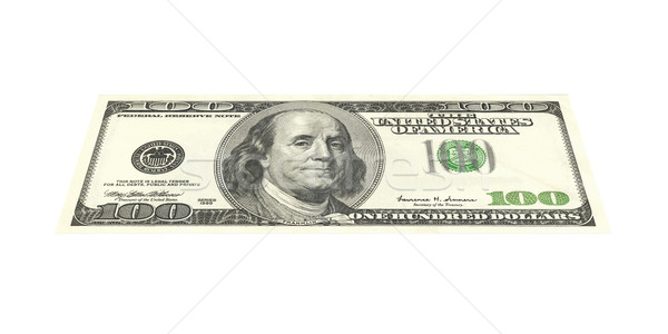 100 Dollar Bill Stock photo © Spectral