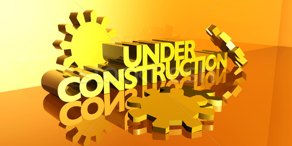 Under Construction Stock photo © Spectral