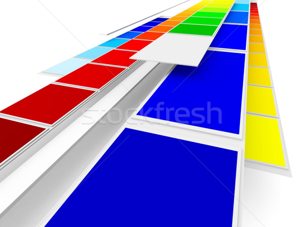 Printing Colors Stock photo © Spectral