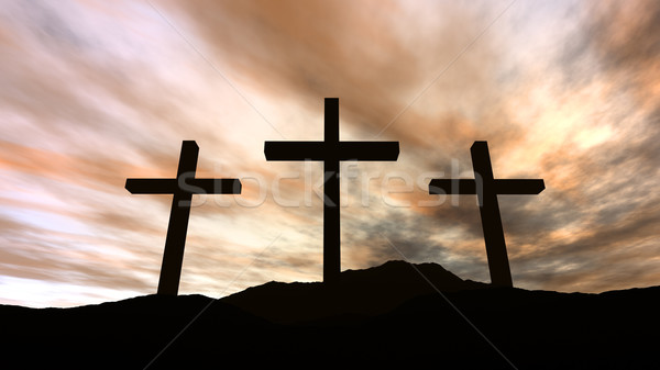 Golgotha Stock photo © Spectral