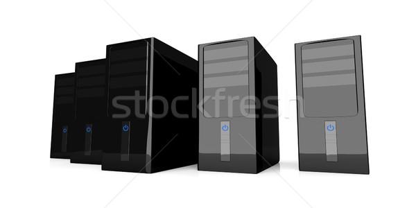 Desktop PCs Stock photo © Spectral