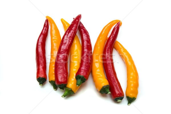 Red and Yellow Chillis	 Stock photo © Spectral