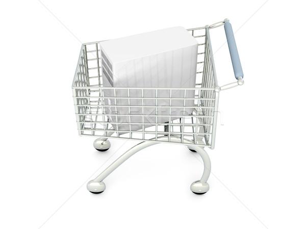Desktop PC Shopping Stock photo © Spectral