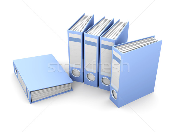 File Folders	 Stock photo © Spectral