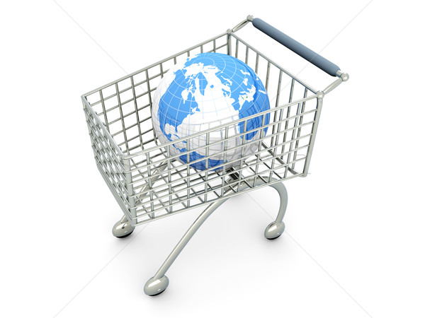 Global Shopping Stock photo © Spectral