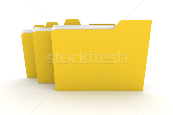 Three Folders	 Stock photo © Spectral