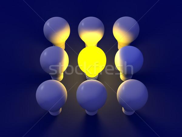 Light bulb Stock photo © Spectral