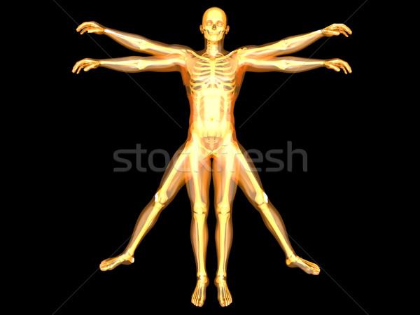 человека форме 3D оказанный интерпретация известный Сток-фото © Spectral