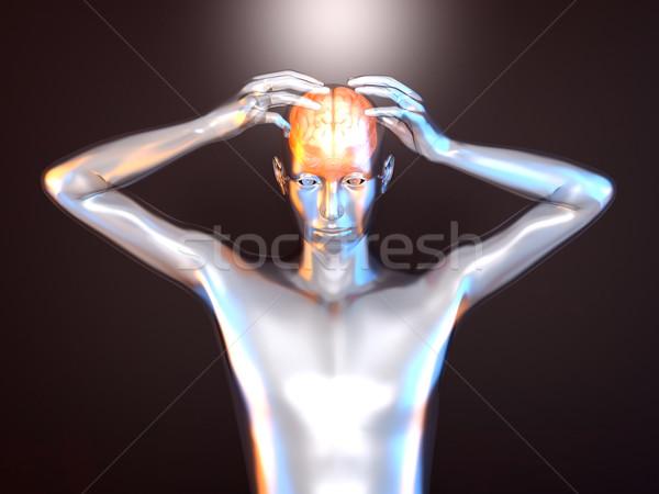 Pouvoir créativité 3D rendu illustration Photo stock © Spectral