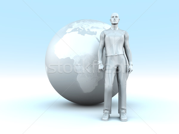 Global business man Stock photo © Spectral