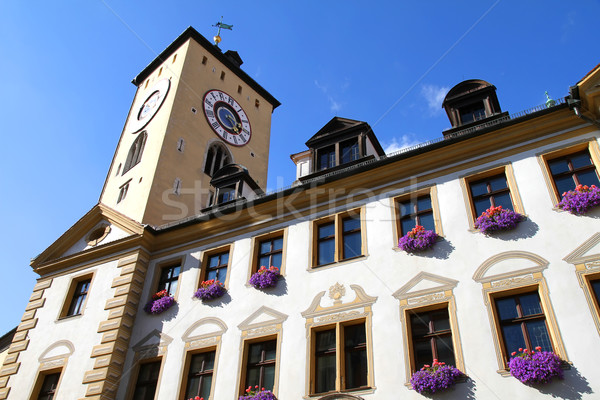 Historic building in Regensburg Stock photo © Spectral