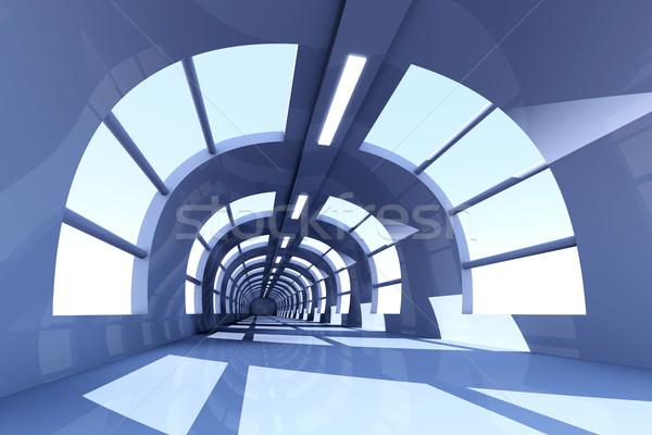 Piano 3D reso interni costruzione stanza Foto d'archivio © Spectral