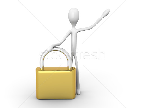Security granted Stock photo © Spectral