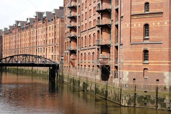 Speicherstadt in Hamburg Stock photo © Spectral