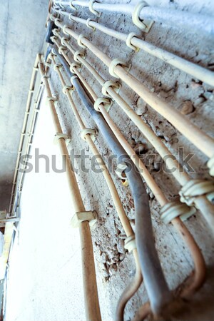 Old electricity cables	 Stock photo © Spectral