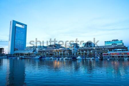 Буэнос-Айрес известный Аргентина Южной Америке бизнеса небе Сток-фото © Spectral