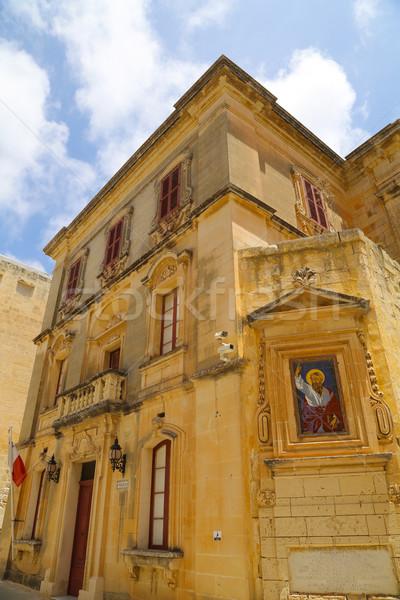 Arquitetura histórica Malta europa edifício construção Foto stock © Spectral