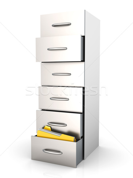 Archive - Filing Cabinet Stock photo © Spectral