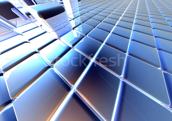 Infinite Cubes Stock photo © Spectral