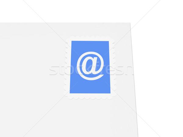электронная почта письма 3D интернет знак контакт Сток-фото © Spectral