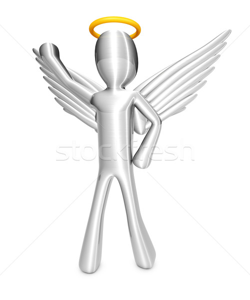 Cartoon Angel Stock photo © Spectral