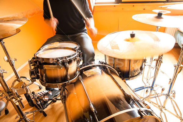 Drummer Stock photo © Spectral