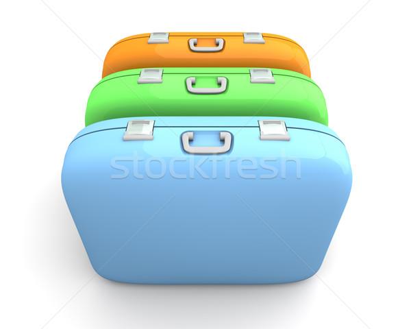 Three Cases Stock photo © Spectral