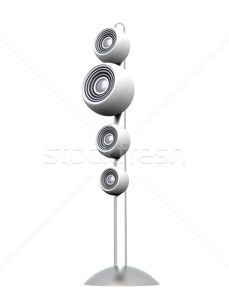 Speaker Stock photo © Spectral