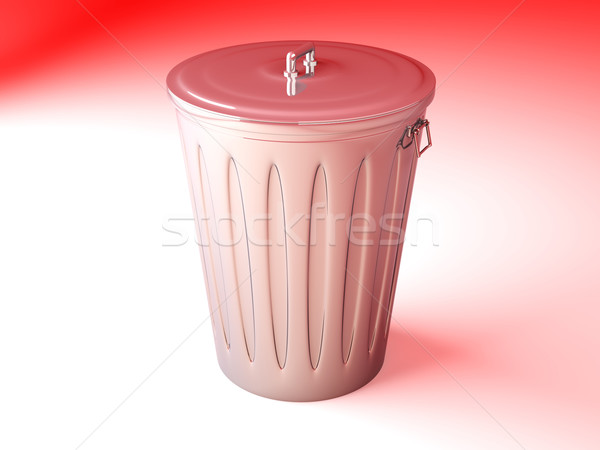 Trash Can Stock photo © Spectral