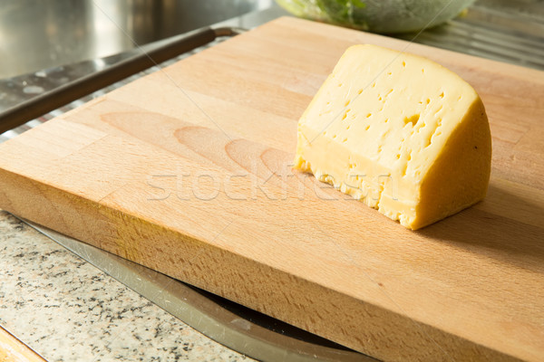 Cheese on a cutting board	 Stock photo © Spectral