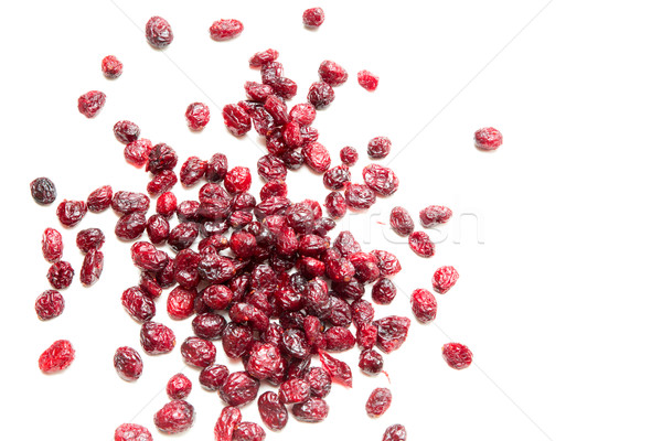 Isolated dried Cranberries Stock photo © Spectral