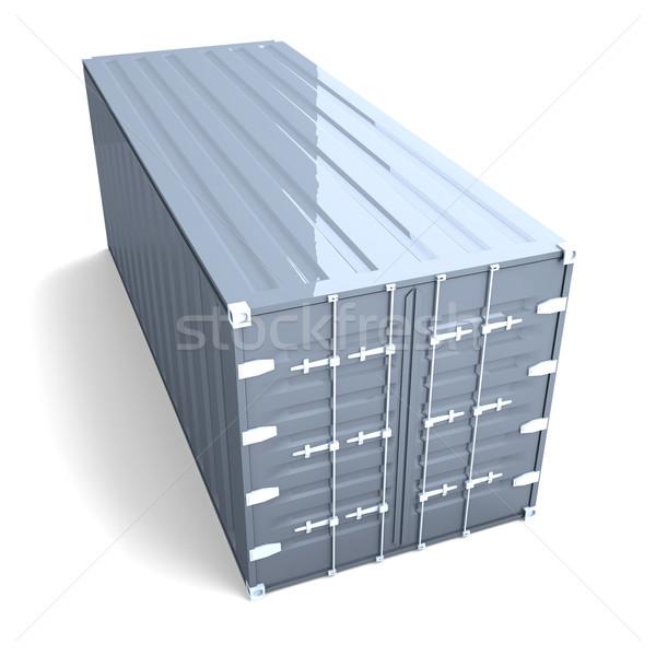 Container 3D gerenderd illustratie industrie industriële Stockfoto © Spectral