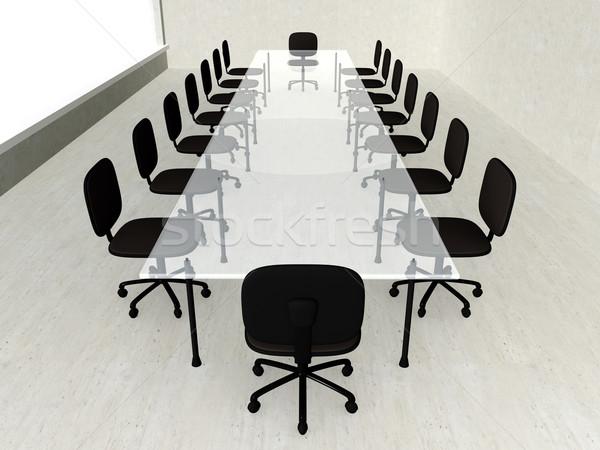 Concrete Meeting room Stock photo © Spectral