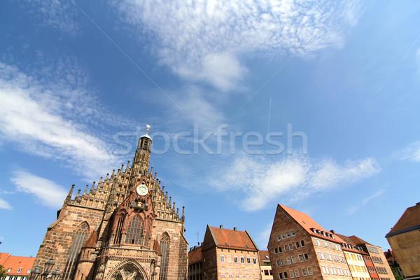 Historic Buildings in Nuremberg Stock photo © Spectral