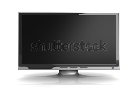 Hdtv 3D оказанный иллюстрация фильма домой Сток-фото © Spectral