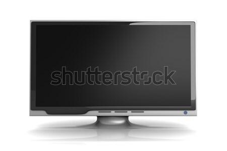 Hdtv 3D gerenderd illustratie film home Stockfoto © Spectral