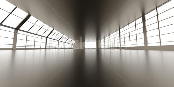 Corporate Architektur 3D gerendert Illustration abstrakten Stock foto © Spectral