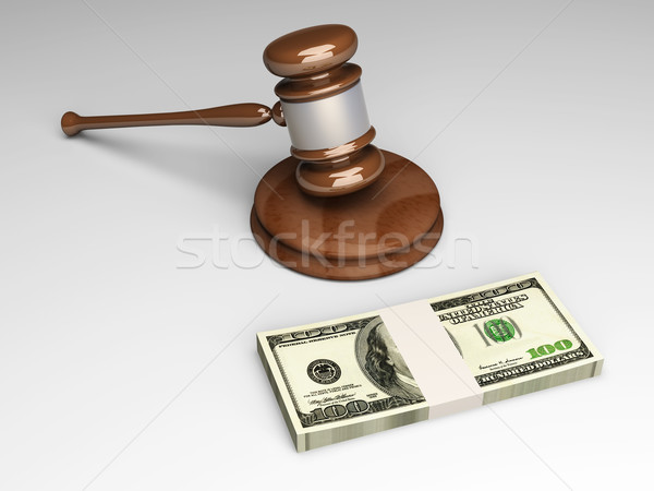 Stock photo: Auction