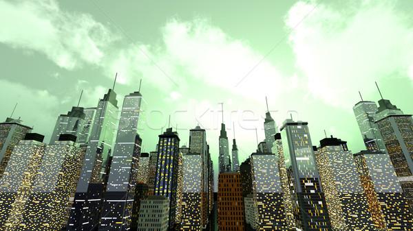 Metropolis Stock photo © Spectral