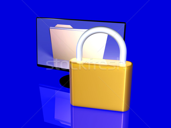 Secure File Stock photo © Spectral