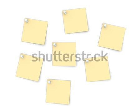 Pinned Notes Stock photo © Spectral