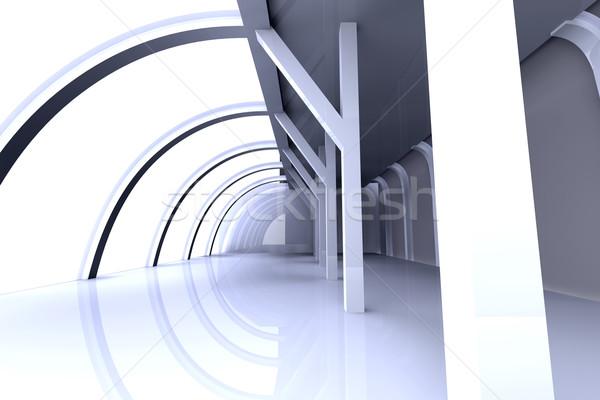 служба архитектура 3D оказанный иллюстрация здании Сток-фото © Spectral