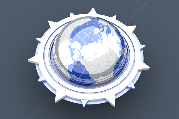 Global compass Stock photo © Spectral