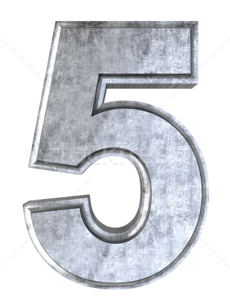 Number 5 Stock photo © Spectral