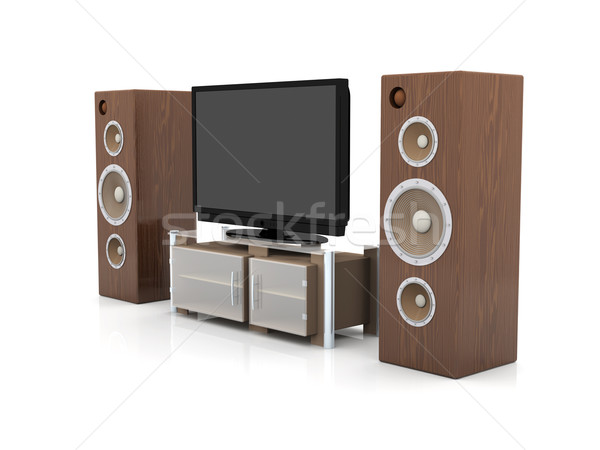 Home Entertainment System Stock photo © Spectral