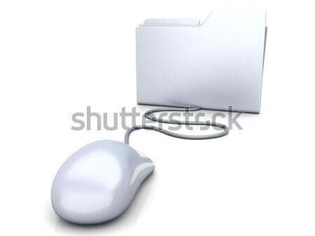 Foto stock: Segurança · 3D · prestados · ilustração · digital · pessoa