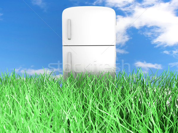 Ecologic Refrigerator Stock photo © Spectral