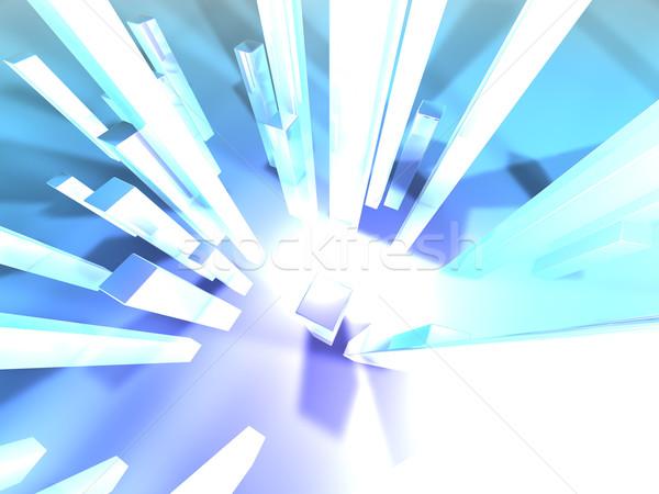 光 3D レンダリング 実例 画像 ストックフォト © Spectral